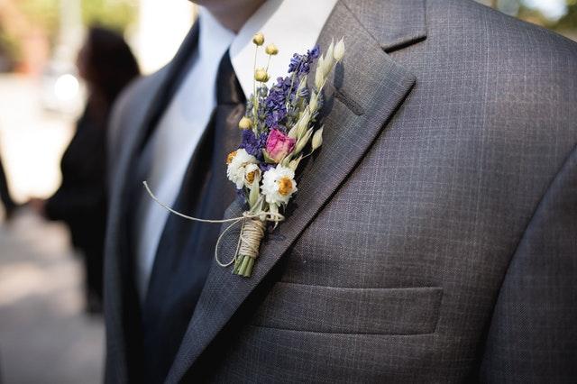 garnitur na ślub dla pana młodego